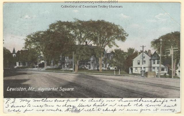 Lowell's Corner, Lewiston, ca. 1910