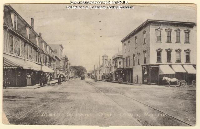 Main Street, Old Town, ca. 1900