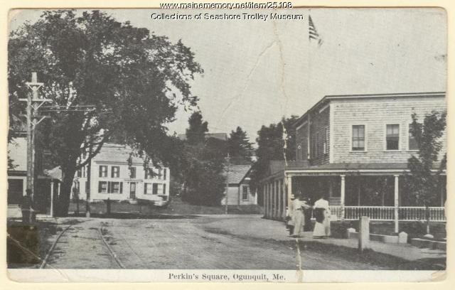 Perkin's Square, Ogunquit, ca. 1900