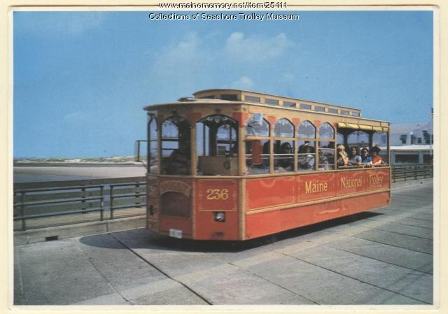 Maine National Trolley, Ogunquit, 1982