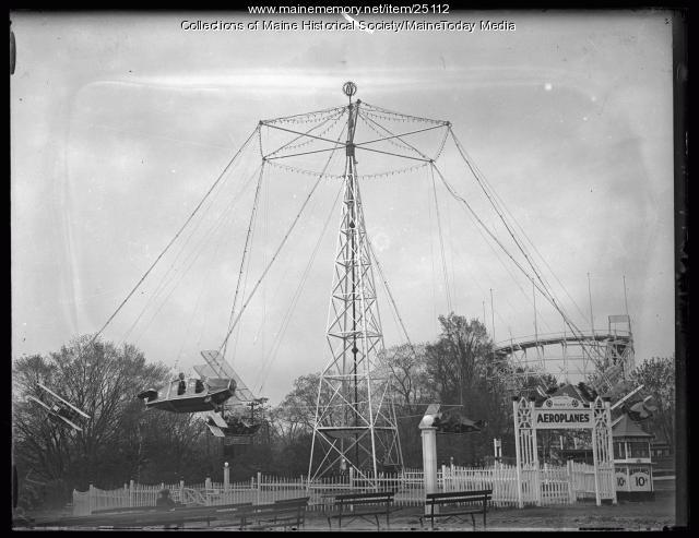 Riverton Park, Portland, 1924