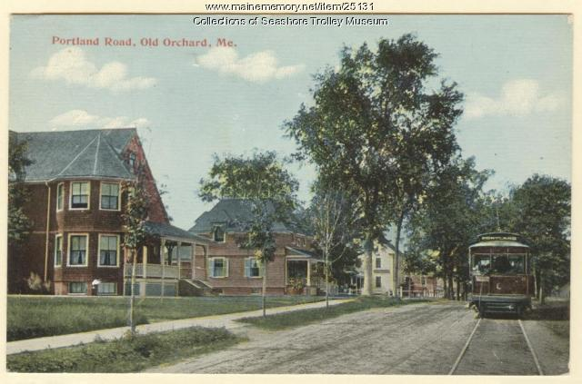 Portland Road, Old Orchard, ca. 1910