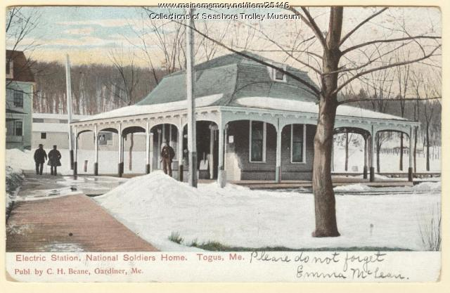 Electric Station, National Soldiers Home, Togus, ca. 1908