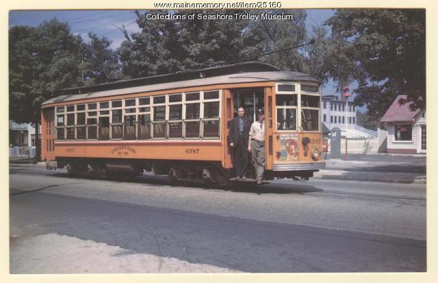 Car #4387, Eastern Massachusetts Street Railway, 1946