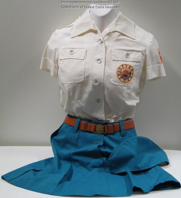 Samantha Smith Artek uniform, 1983