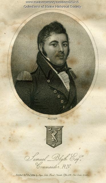 Cmdr. Samuel Blyth, ca. 1812