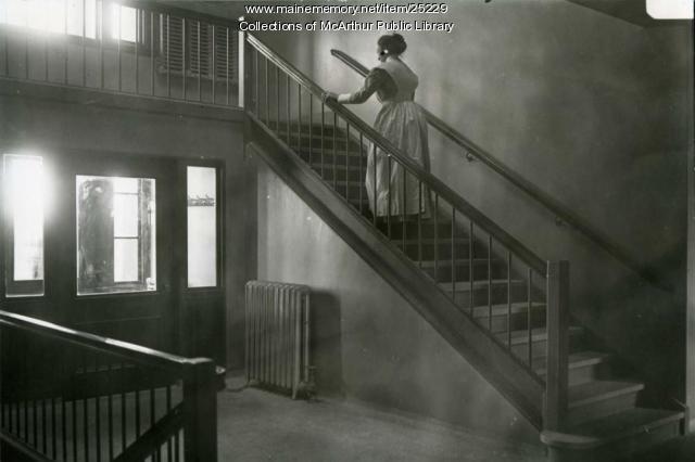 Nurse at Webber Hospital, Biddeford, 1912