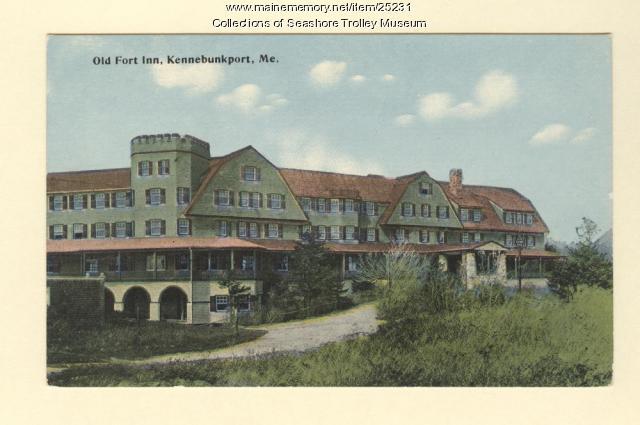 Old Fort Inn, Kennebunkport, ca. 1910