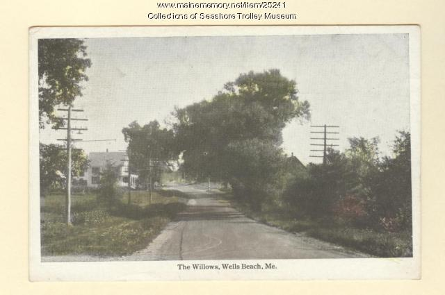 The Willows, Wells Beach, ca. 1910
