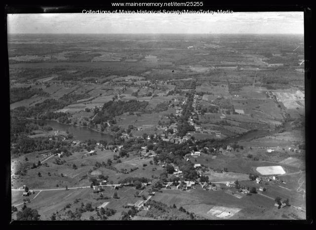 Aerial photograph, Warren, ca. 1930