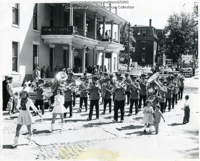 Le Montagnard Band, Lewiston, 1960
