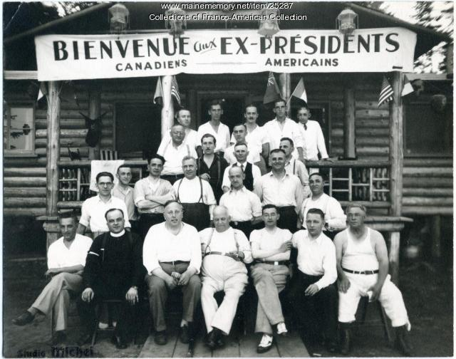 Snowshoe club presidents, Quebec