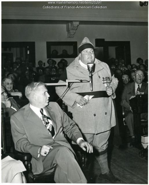Albert Cote, Lewiston, ca. 1960