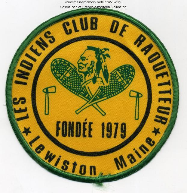 Les Indiens Club de Raquetteur, Lewiston, ca. 1980