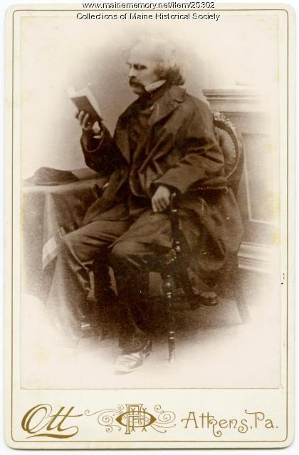 Nathaniel Hawthorne, ca. 1860