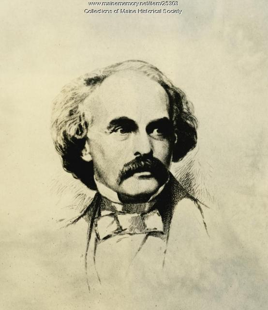 Nathaniel Hawthorne, London, 1860