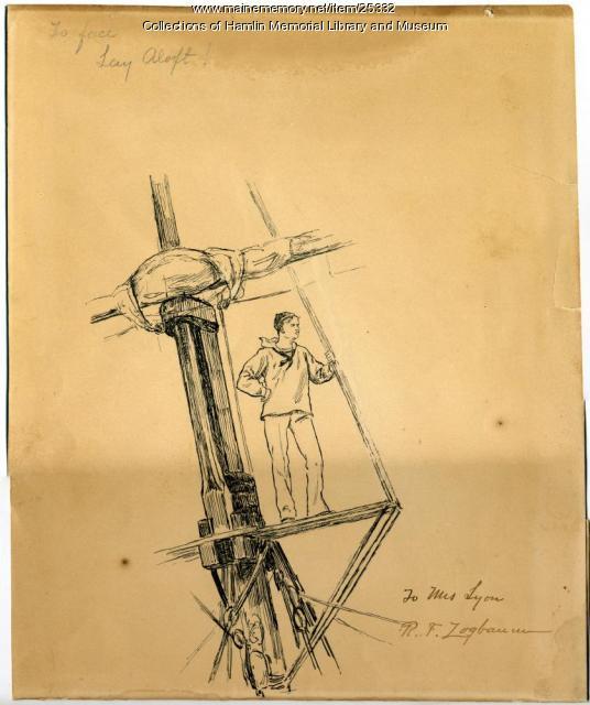 Harry Lyon sketch, 1906