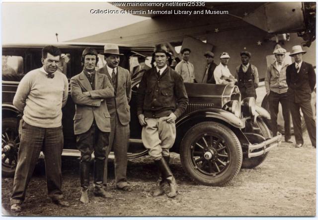 Crew of Southern Cross, California, 1928