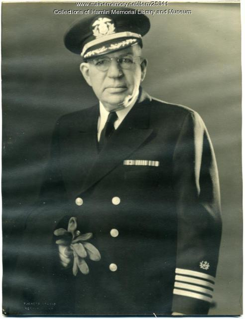 Capt. Henry W. Lyon Jr., Paris Hill, ca. 1942