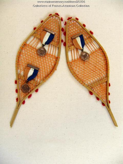 Snowshoe competition souvenir, 1950