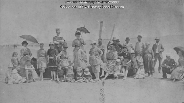 C.Z. Allen Family, 1880