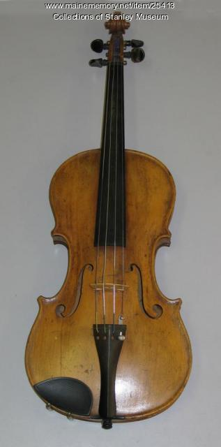 Freelan Oscar Stanley Violin, 1865