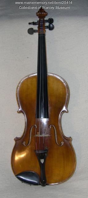 Freelan Oscar Stanley Violin, 1878