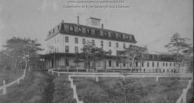 Bay View Hotel, Saco, ca. 1900
