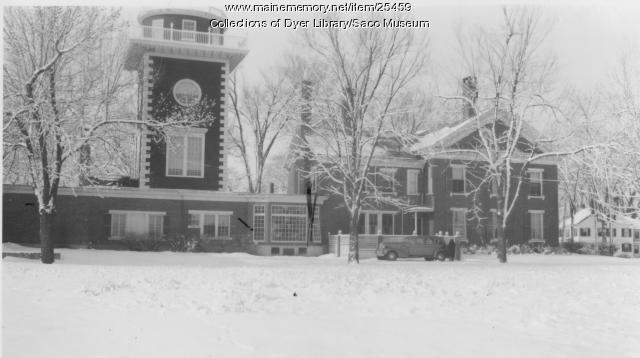 Joseph G. Deering Mansion, Saco, 1937