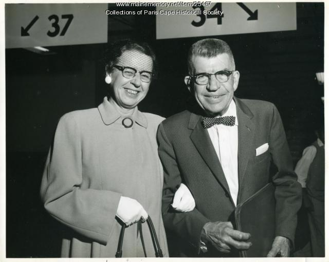 Thelma and Harry Lyon, Portland, 1958