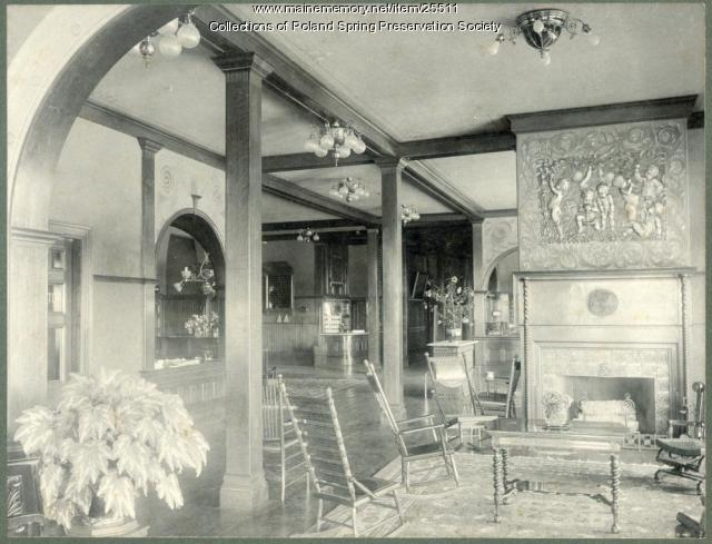 Poland Spring House office, 1894
