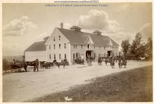 Stables, Poland Spring, 1887