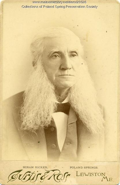 Hiram Ricker, Poland Spring, ca. 1885