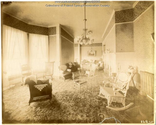 Ladies' Parlor, Poland Spring House, ca. 1895