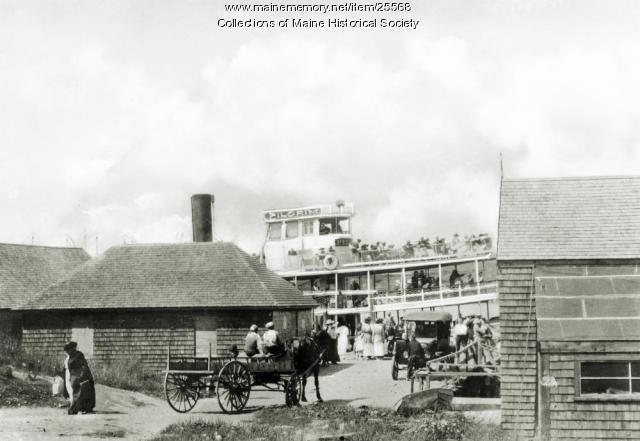 Bailey Island ferry, ca. 1910