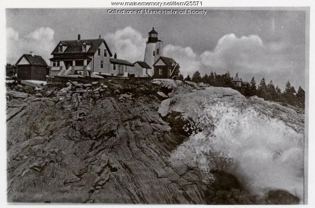 Pemaquid Point Light, ca. 1930