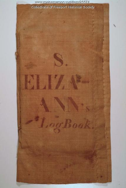Logbook of the Ship Eliza Ann, 1809-1814