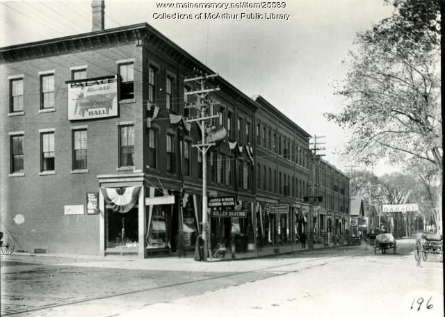 Main Street, Biddeford, 1909