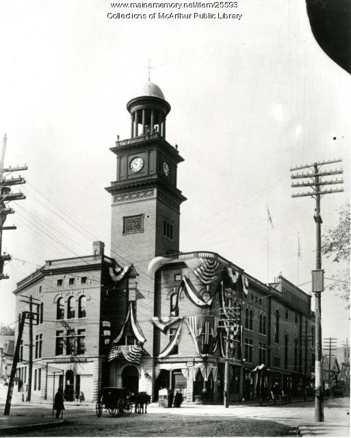 City Building, Biddeford, 1909