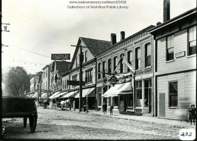 Washington Street, Biddeford, 1909