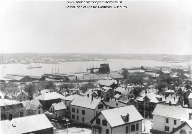 View from Portland Observatory, ca. 1900