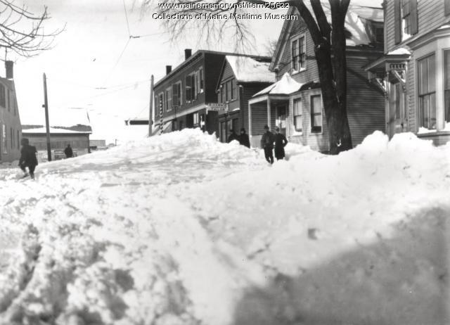 Sawyer Street, South Portland, 1899