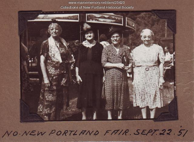 New Portland Fair, September 22, 1951