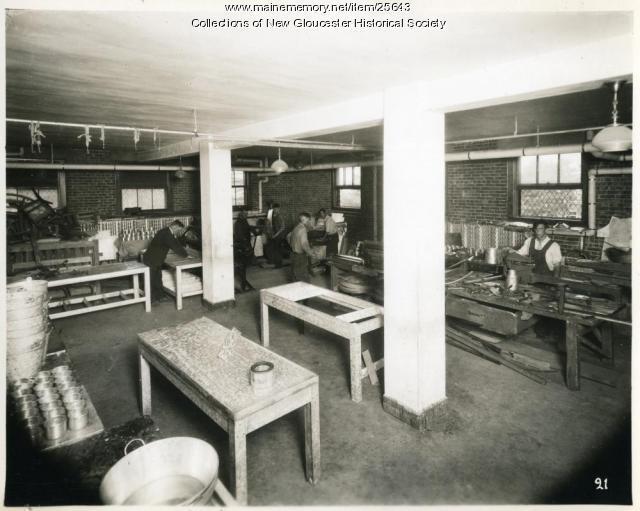 Print shop, Pownal State School, ca. 1937
