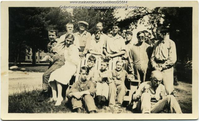 Residents, Pownal State School, ca. 1937