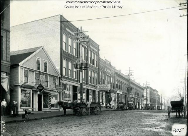 Main St., Biddeford, 1911