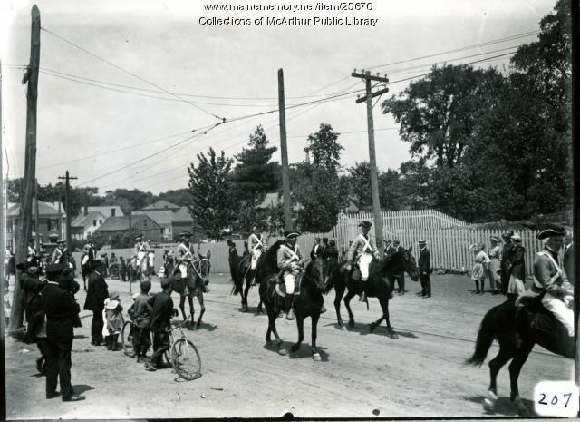 Biddeford's Tercentenary, 1916