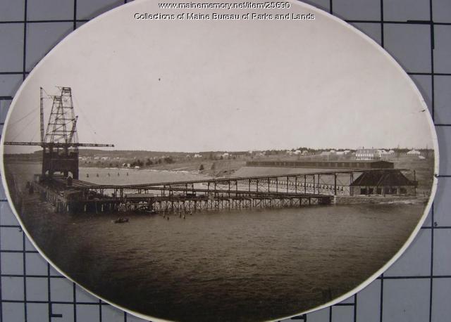 Lamoine Coaling Station, ca. 1910