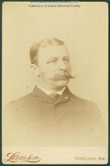 John Marshall Brown, Portland, ca. 1880