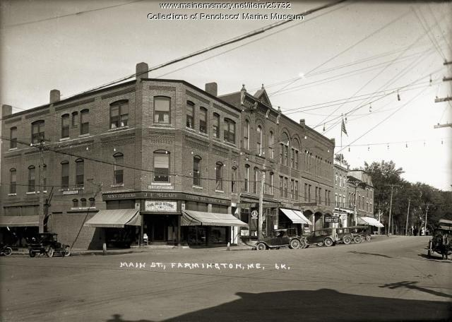 Main Street, Farmington, ca. 1925